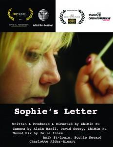 Sophie's Letter poster